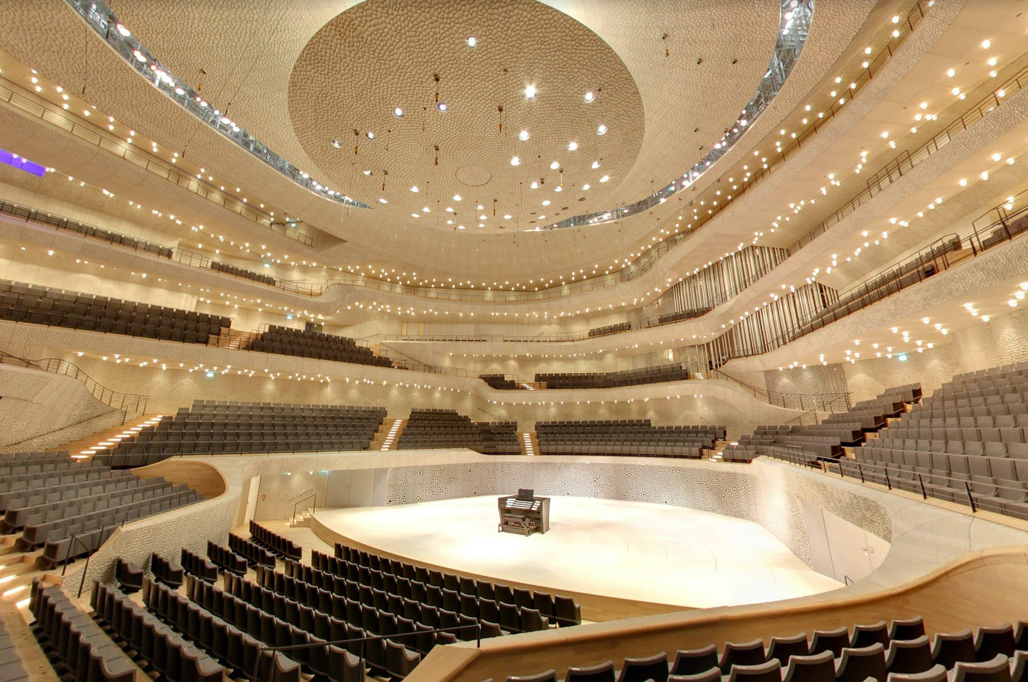 Take A Stroll Inside Herzog De Meuron S Elbphilharmonie Hamburg Courtesy Of Google News Archinect