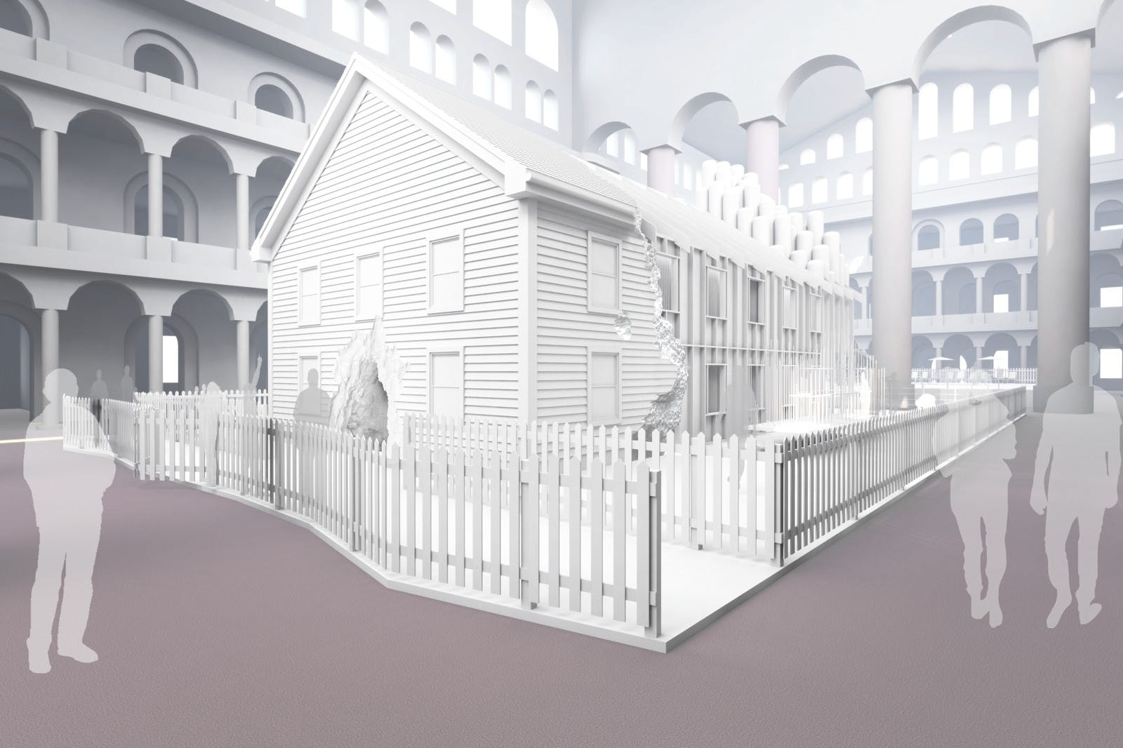 first glimpse snarkitecture s fun house for the national building