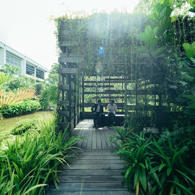 Enabling Village by WOHA Architects Pte Ltd. © Singapore Pavilion, 16th Venice Biennale International Architecture Exhibition.