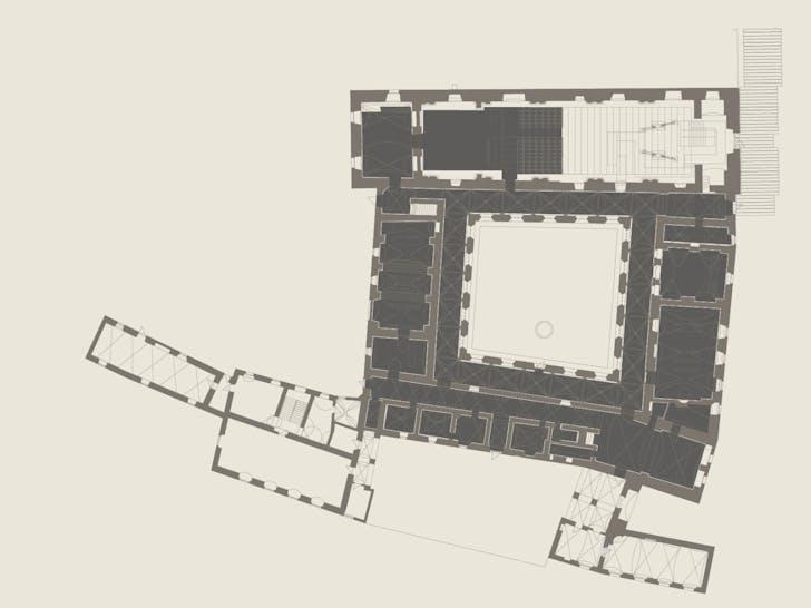 Ground floor plan. Image: ENOTA