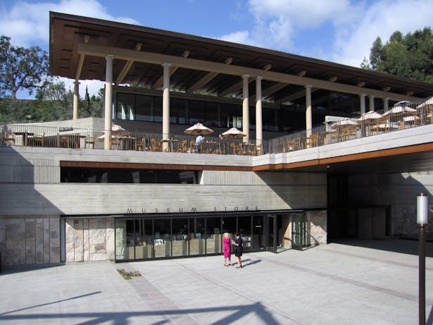 Getty Villa - Plaza, Bookstore and Cafe