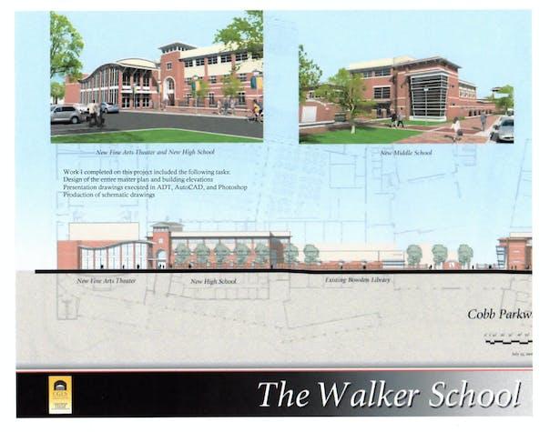 The Walker School-Elevations