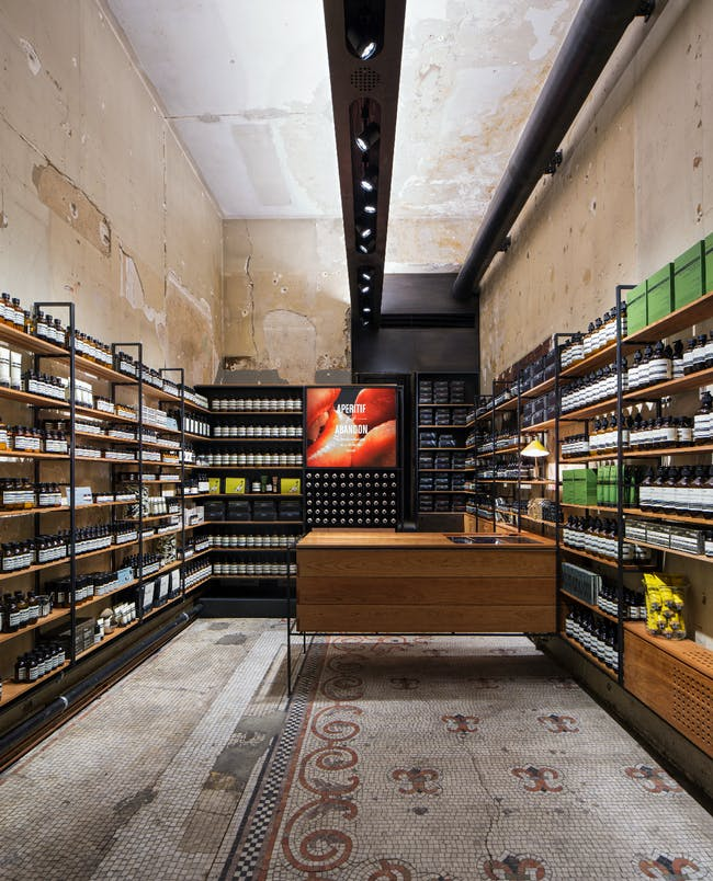 Aesop - Madison location by Architecture OUTFIT. Photo by Ty Cole.