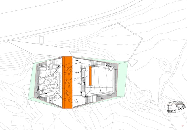 Plan of the cafe