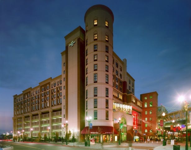 Hotel Exterior Perspective
