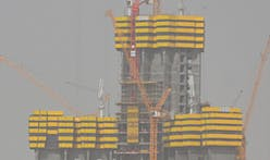 Megatall Jeddah Tower, formerly Kingdom Tower, 20% complete