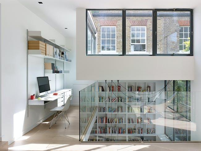 INSIDE World Festival of Interiors - Residential: Little White House, UK by Stiff + Trevillion Architects