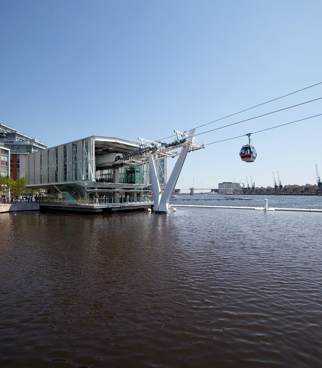 Award for Infrastructure or Transportation Structures: Emirates Air Line, London, UK; Structural Designers: Expedition Engineering; Buro Happold and URS; Image: Luke Hayes.