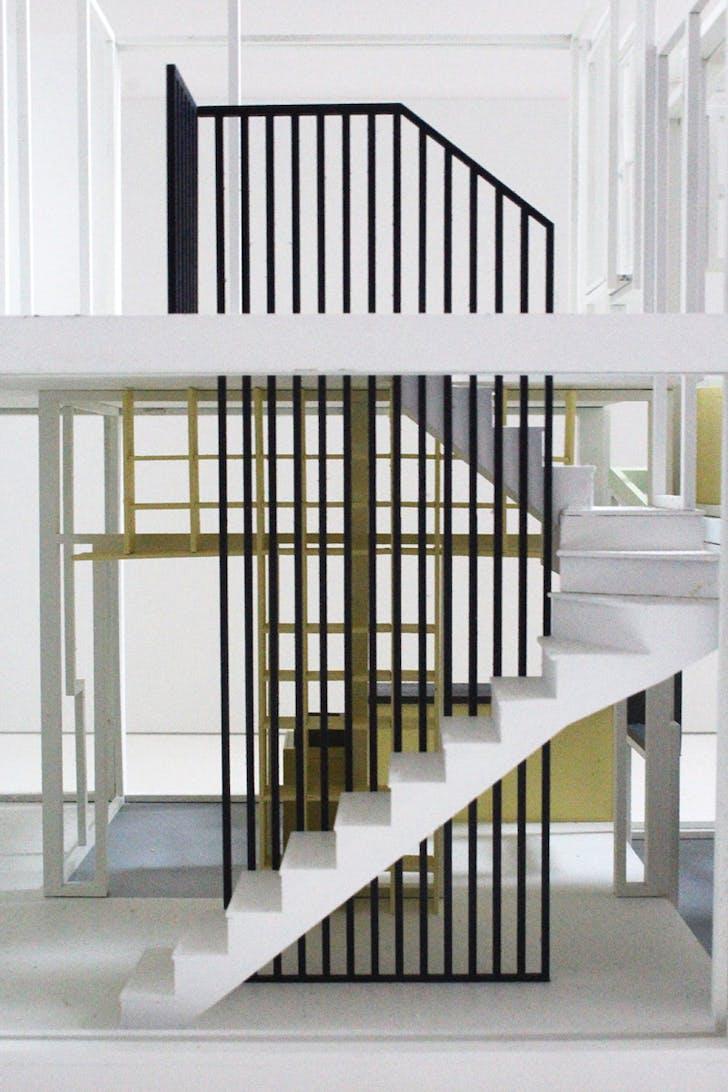 'Concrete House' model, courtesy of Studio Gil.