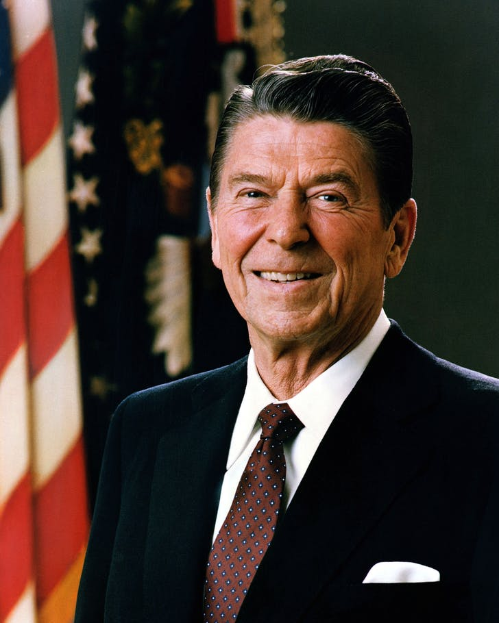 The Middle Class didn't do it alone: According to Wikipedia, President Reagan was known for 'routinely criticizing and defunding the public sector.'