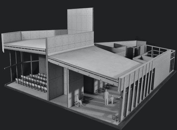 1/2' Section Model