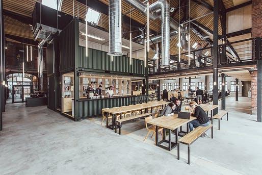 Albert Works by Cartwright Pickard Architects. Photo © Tom Kahler.