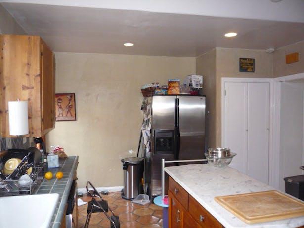 Existing Kitchen Refrigerator Area