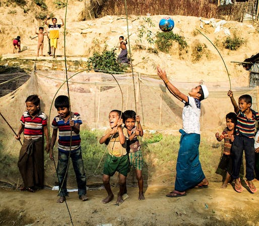 Drinking Straws and Toothpicks: Bamboo Architecture in the Rohingya Refugee Camps