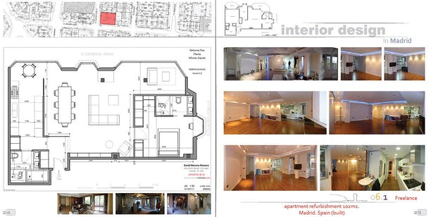 Interior design david moreno archinect - Interior design portfolio presentation ...