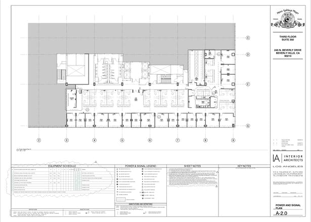 MGM (Power&Signal Plan) in Revit