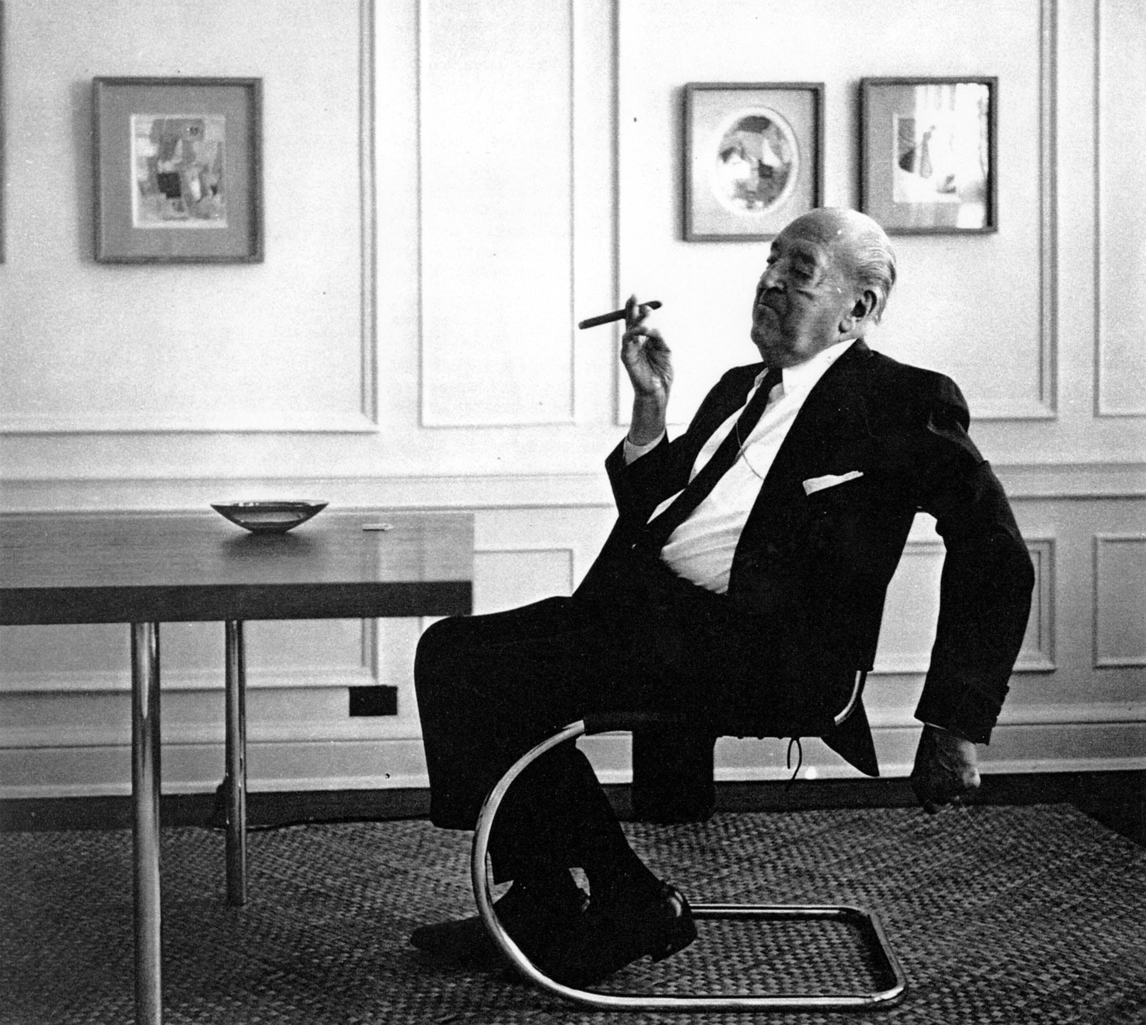 Mies Van Der Rohe Or Should We Say Maria Image Public Domain