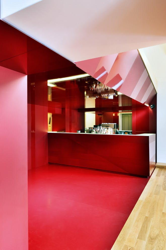 18 13 The Kitchen Of The Theater Arkham Project Archinect