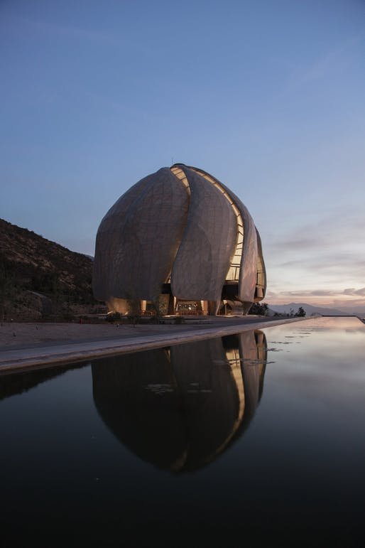 The Bahá'í Temple of South America by Hariri Pontarini Architects, Santiago, Chile. Photo: Justin Ford.