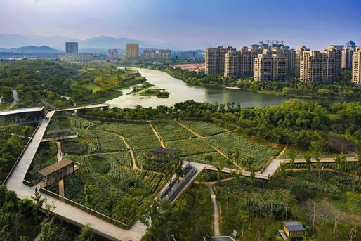 Best Landscape Architecture - Turenscape: Quzhou Luming Park, Quzhou City, China. Photo credit: Azure