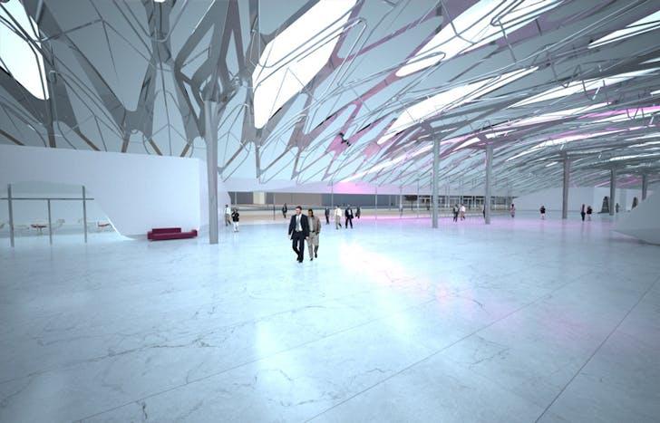 Guzhen Center, China, competition entry. Image courtesy of Volkan Alkanoglu.