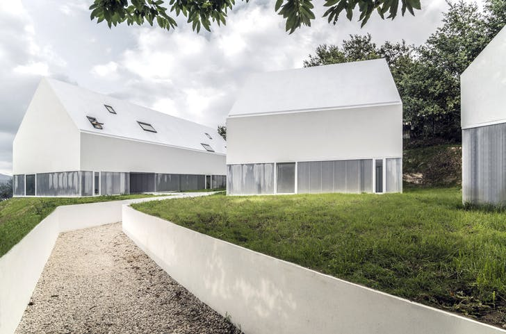 The AND-RÉ-designed White Wolf Hotel in Penafiel, Portugal. Photo: João Soares