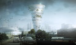 KKT architects envision tornado-shaped tower for downtown Tulsa