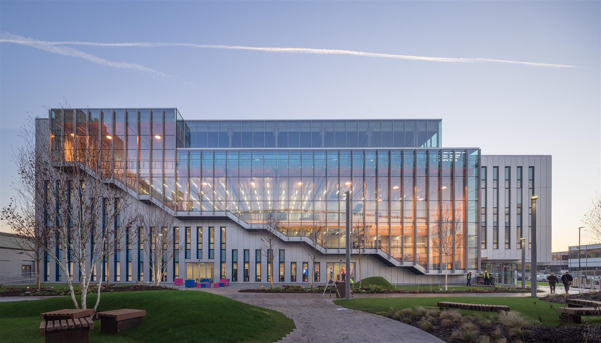 Bskyb Believe In Better Building Arup Architects Archinect