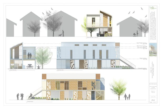 SSPLIT House Elevations