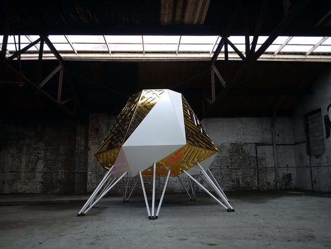The Mothership by Anya Sirota + AKOAKI. Photo courtesy of The Metropolitan Observatory for Digital Culture and Representation