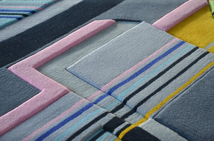 A close-up of a groove that one attendee felt would make a perfect raceway for a model car. Image: Elena Manferdini + Urban Fabric