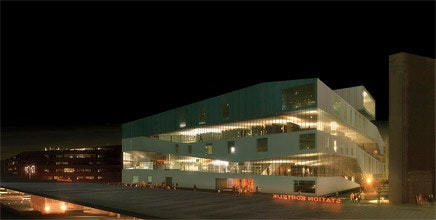 Delicieux REX Wins Kortrijk Central Library Competition In Belgium