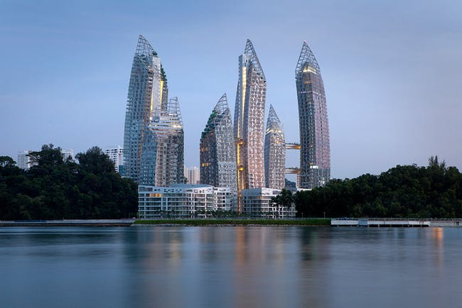 Residential Building of the year award (multiple occupancy) - Special award: Studio Daniel Libeskind, DCA Architects PTE Ltd, with Reflections at Keppel Bay