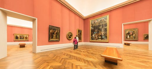 'Sometimes it feels as if Berlin's museum curators are making a special effort to keep visitors away,' bemoans SPIEGEL author Ulrike Knöfel in her recent article. Seen in this picture are empty halls in Berlin's prestigious Gemäldegalerie. (Photo: JÜRGEN SCHRADER/SPIEGEL)