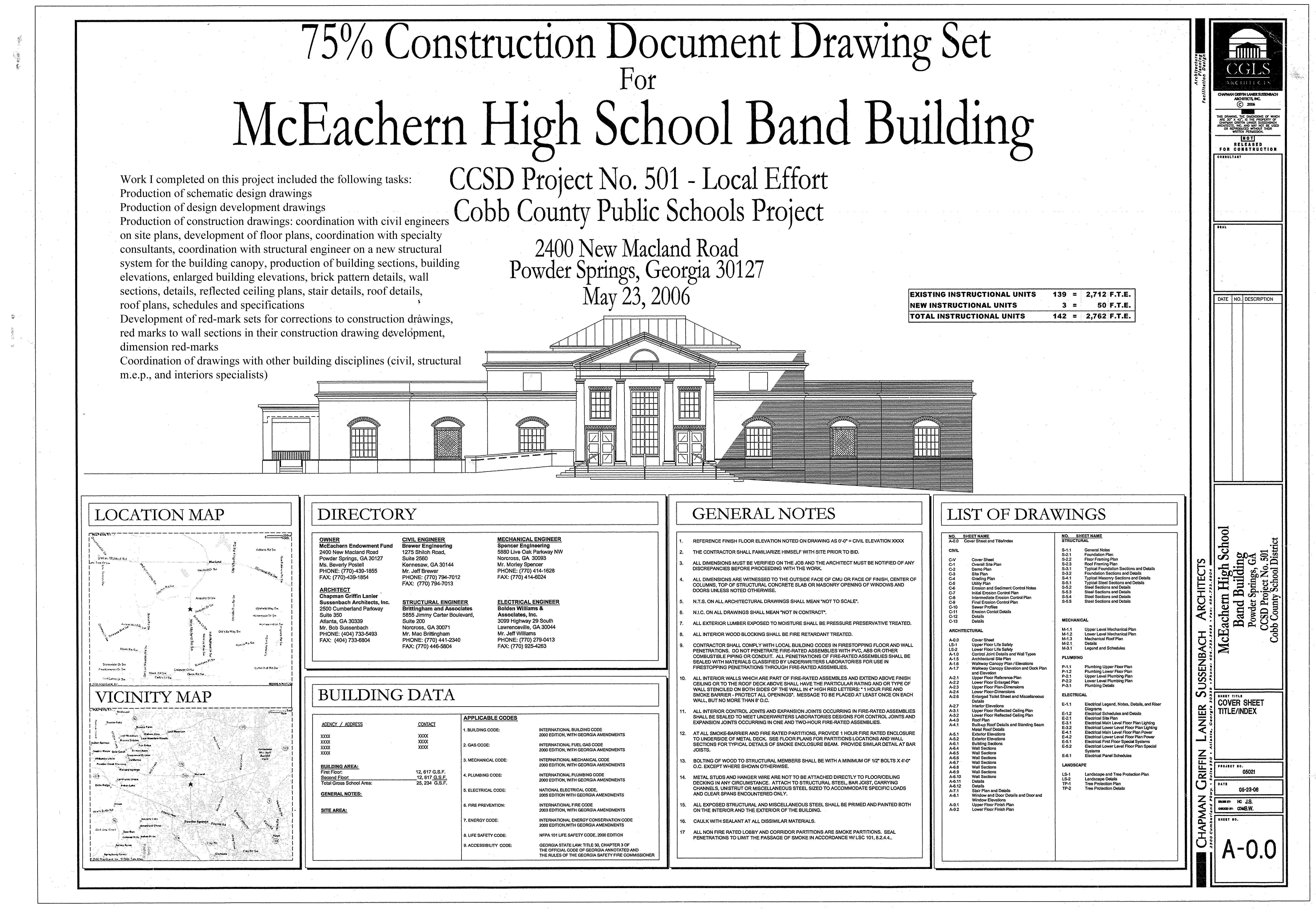 Mceachern band building jennifer slavik archinect for Building drawing online