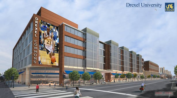 Drexel University, Proposed Drexel Commons-Designed by H2L2 Architects/Planners LLC