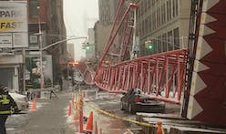Crane collapses in Manhattan, one dead and two seriously injured