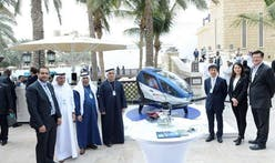 Flying cars take to the air in Dubai