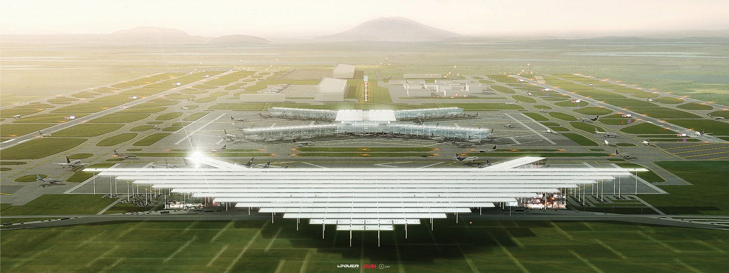 A look at jahn loguer adgs mexico city international airport mexico city international airport competition entry by jahn loguer adg image courtesy of jahn sciox Gallery