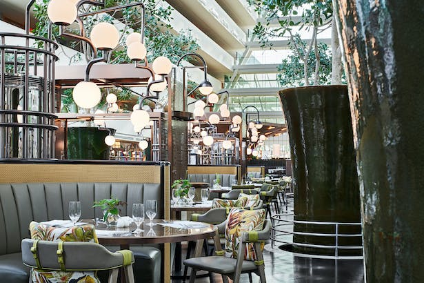 RISE Restaurant at Marina Bay Sands, Singapore, by Aedas Interiors