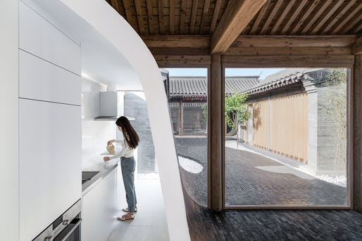Refurbishment - HIGHLY COMMENDED: ARCHSTUDIO, Twisting Courtyard, Beijing, China