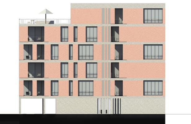 facade east
