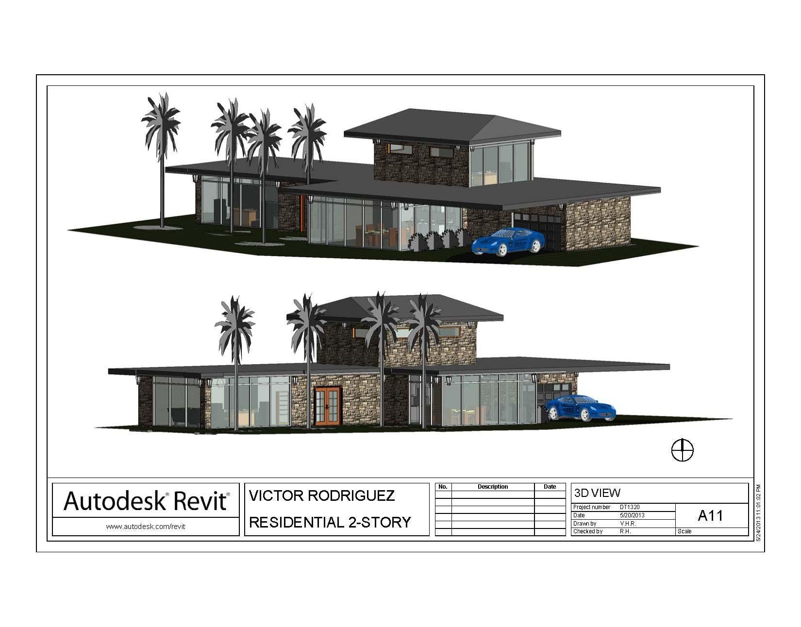 Final project itt revit architecture victor for Architecture firms that use revit