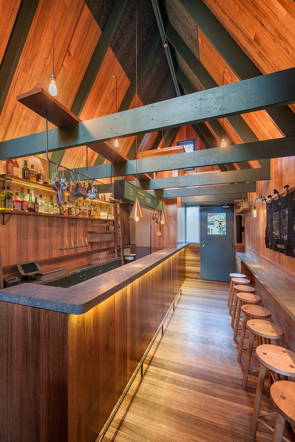 Adelaide S Pink Moon Saloon Is A Snug Fit For A Local