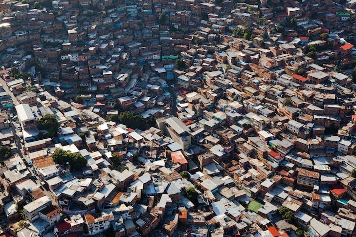 Barrio San Augustin in Caracas, Venezuela. Credit U-TT / Daniel Schwartz.