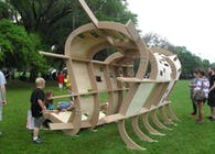 Side Walk Art Festival Pavilion