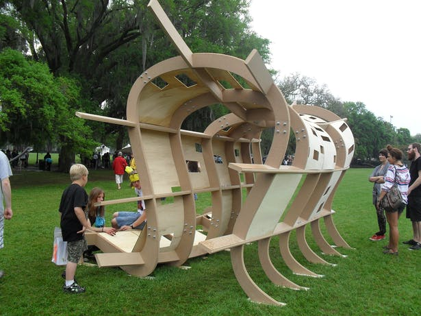 Side Walk Arts Festival Pavilion