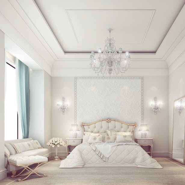 Simple Yet Elegant Bedroom Design Ions Archinect