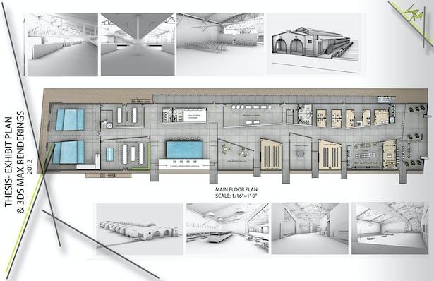 Floor plan (+3DS Max Images)
