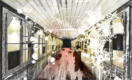 Archicollage 2 - Broken Windows - Digital Art / Mixed Media / Landscapes & Scenery